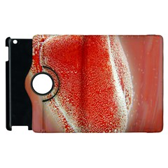 Red Pepper And Bubbles Apple Ipad 3/4 Flip 360 Case