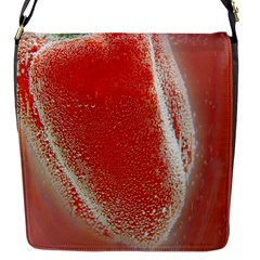 Red Pepper And Bubbles Flap Messenger Bag (s)