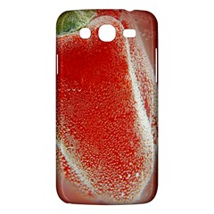 Red Pepper And Bubbles Samsung Galaxy Mega 5.8 I9152 Hardshell Case