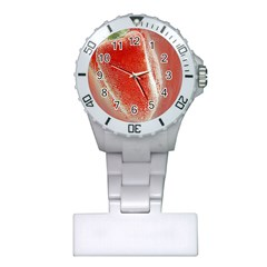 Red Pepper And Bubbles Plastic Nurses Watch