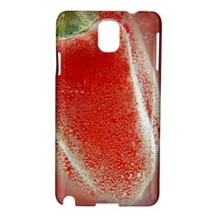 Red Pepper And Bubbles Samsung Galaxy Note 3 N9005 Hardshell Case