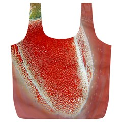 Red Pepper And Bubbles Full Print Recycle Bags (l)