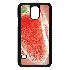 Red Pepper And Bubbles Samsung Galaxy S5 Case (black)