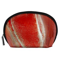 Red Pepper And Bubbles Accessory Pouches (large)
