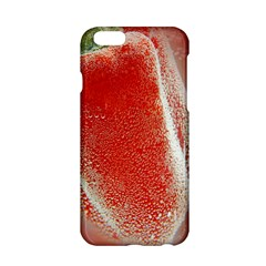 Red Pepper And Bubbles Apple iPhone 6/6S Hardshell Case