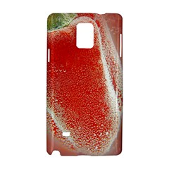 Red Pepper And Bubbles Samsung Galaxy Note 4 Hardshell Case