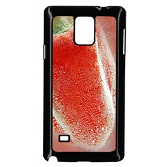 Red Pepper And Bubbles Samsung Galaxy Note 4 Case (Black)
