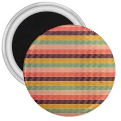 Abstract Vintage Lines Background Pattern 3  Magnets