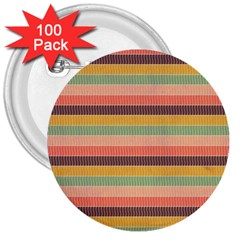 Abstract Vintage Lines Background Pattern 3  Buttons (100 pack)