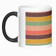 Abstract Vintage Lines Background Pattern Morph Mugs