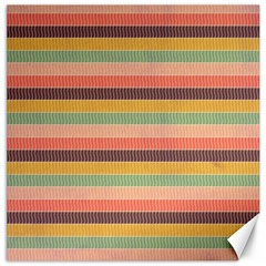 Abstract Vintage Lines Background Pattern Canvas 12  X 12