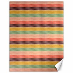 Abstract Vintage Lines Background Pattern Canvas 12  X 16