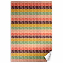 Abstract Vintage Lines Background Pattern Canvas 20  x 30