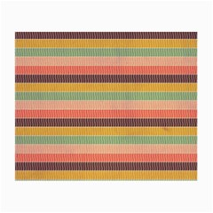 Abstract Vintage Lines Background Pattern Small Glasses Cloth (2 Side)