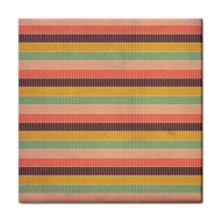Abstract Vintage Lines Background Pattern Face Towel