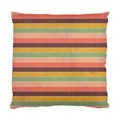 Abstract Vintage Lines Background Pattern Standard Cushion Case (Two Sides)