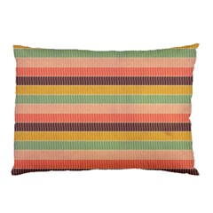 Abstract Vintage Lines Background Pattern Pillow Case