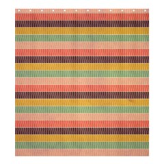 Abstract Vintage Lines Background Pattern Shower Curtain 66  X 72  (large)