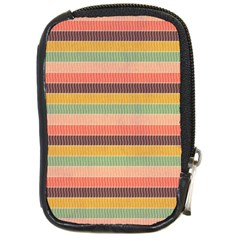 Abstract Vintage Lines Background Pattern Compact Camera Cases