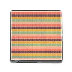 Abstract Vintage Lines Background Pattern Memory Card Reader (square)