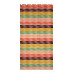 Abstract Vintage Lines Background Pattern Shower Curtain 36  X 72  (stall)