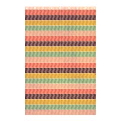Abstract Vintage Lines Background Pattern Shower Curtain 48  x 72  (Small)