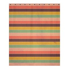 Abstract Vintage Lines Background Pattern Shower Curtain 60  X 72  (medium)