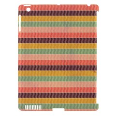 Abstract Vintage Lines Background Pattern Apple Ipad 3/4 Hardshell Case (compatible With Smart Cover)