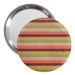 Abstract Vintage Lines Background Pattern 3  Handbag Mirrors