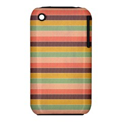 Abstract Vintage Lines Background Pattern Iphone 3s/3gs