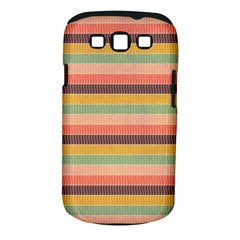Abstract Vintage Lines Background Pattern Samsung Galaxy S III Classic Hardshell Case (PC+Silicone)