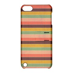 Abstract Vintage Lines Background Pattern Apple Ipod Touch 5 Hardshell Case With Stand