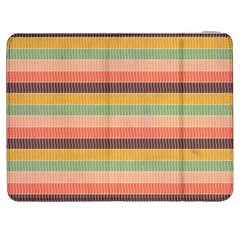 Abstract Vintage Lines Background Pattern Samsung Galaxy Tab 7  P1000 Flip Case