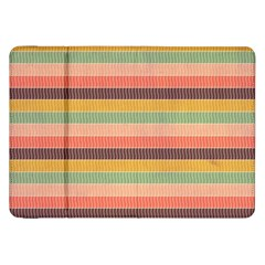 Abstract Vintage Lines Background Pattern Samsung Galaxy Tab 8 9  P7300 Flip Case