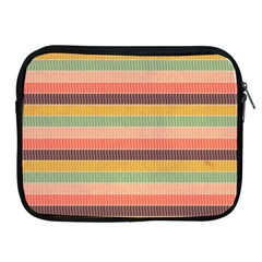 Abstract Vintage Lines Background Pattern Apple Ipad 2/3/4 Zipper Cases