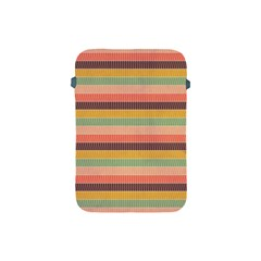 Abstract Vintage Lines Background Pattern Apple iPad Mini Protective Soft Cases