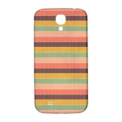 Abstract Vintage Lines Background Pattern Samsung Galaxy S4 I9500/i9505  Hardshell Back Case