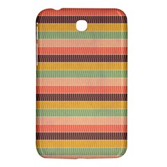 Abstract Vintage Lines Background Pattern Samsung Galaxy Tab 3 (7 ) P3200 Hardshell Case