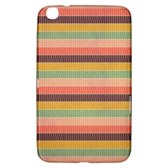 Abstract Vintage Lines Background Pattern Samsung Galaxy Tab 3 (8 ) T3100 Hardshell Case
