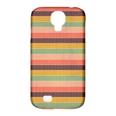 Abstract Vintage Lines Background Pattern Samsung Galaxy S4 Classic Hardshell Case (pc+silicone)