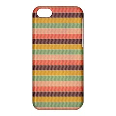 Abstract Vintage Lines Background Pattern Apple iPhone 5C Hardshell Case