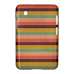 Abstract Vintage Lines Background Pattern Samsung Galaxy Tab 2 (7 ) P3100 Hardshell Case