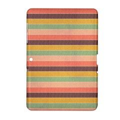 Abstract Vintage Lines Background Pattern Samsung Galaxy Tab 2 (10 1 ) P5100 Hardshell Case