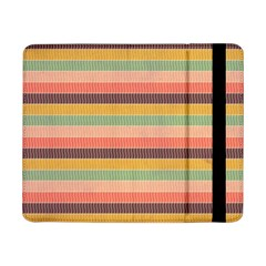 Abstract Vintage Lines Background Pattern Samsung Galaxy Tab Pro 8 4  Flip Case