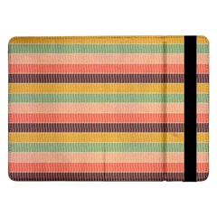 Abstract Vintage Lines Background Pattern Samsung Galaxy Tab Pro 12 2  Flip Case