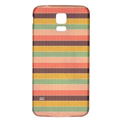 Abstract Vintage Lines Background Pattern Samsung Galaxy S5 Back Case (white)