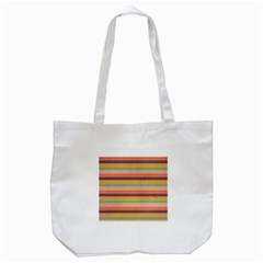 Abstract Vintage Lines Background Pattern Tote Bag (white)