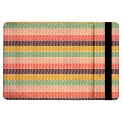 Abstract Vintage Lines Background Pattern Ipad Air 2 Flip