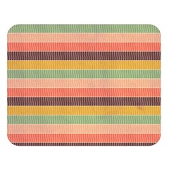 Abstract Vintage Lines Background Pattern Double Sided Flano Blanket (large)