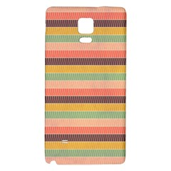 Abstract Vintage Lines Background Pattern Galaxy Note 4 Back Case